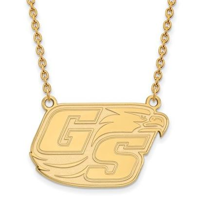 Picture of Georgia Southern University Eagles 10k Yellow Gold Large Necklace