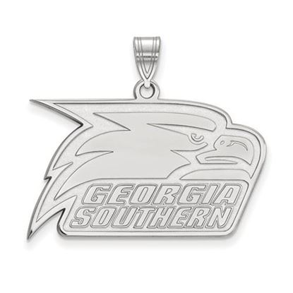 Picture of Georgia Southern University Eagles 14k White Gold Large Pendant
