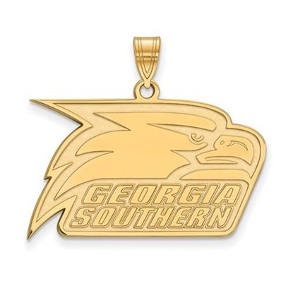 Picture of Georgia Southern University Eagles 14k Yellow Gold Large Pendant