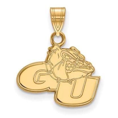 Picture of Gonzaga University Bulldogs 10k Yellow Gold Small Pendant