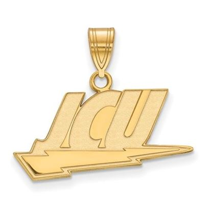 Picture of John Carroll University Blue Streaks Sterling Silver Gold Plated Large Pendant