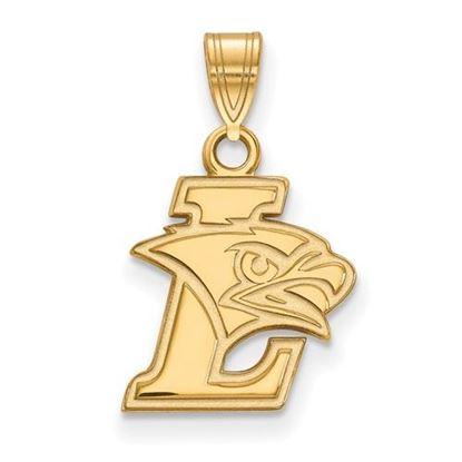Picture of Lehigh University Mountain Hawks 14k Yellow Gold Small Pendant