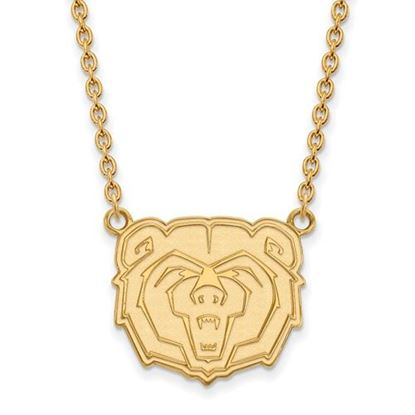 Picture of Missouri State University Bears Sterling Silver Gold Plated Large Necklace