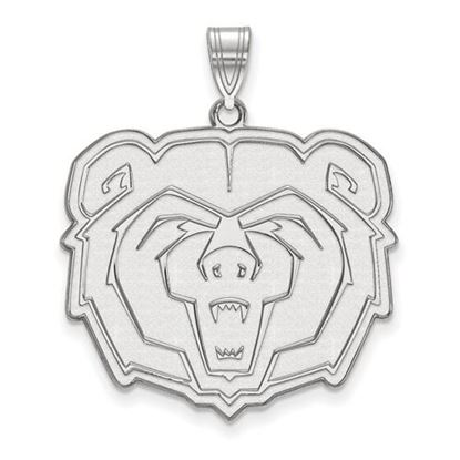 Picture of Missouri State University Bears 10k White Gold Extra Large Pendant
