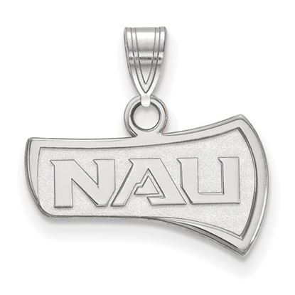 Picture of Northern Arizona University Lumberjacks 10k White Gold Small Pendant