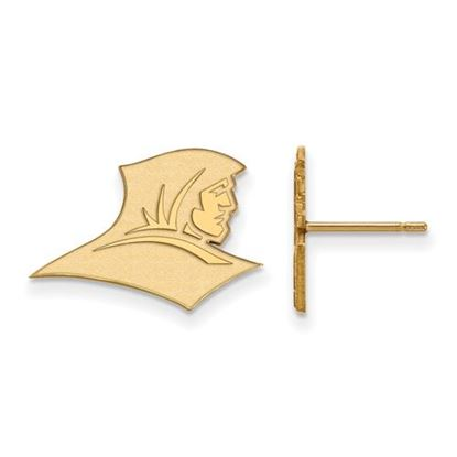 Picture of Providence College Friars 10k Yellow Gold Small Post Earrings