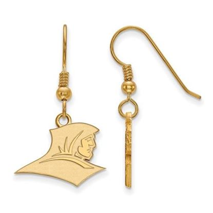 Picture of Providence College Friars Sterling Silver Gold Plated Small Dangle Earrings