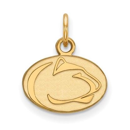 Picture of Penn State University Nittany Lions Sterling Silver Gold Plated Extra Small Pendant