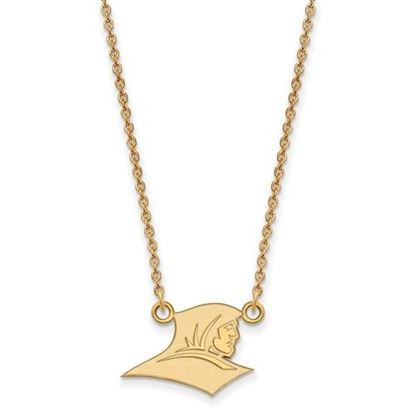 Picture of Providence College Friars 10k Yellow Gold Small Necklace