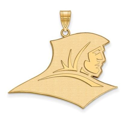 Picture of Providence College Friars Sterling Silver Gold Plated Extra Large Pendant