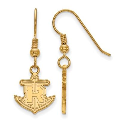 Picture of Rollins College Tars Sterling Silver Gold Plated Small Dangle Earrings