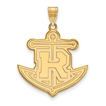 Picture of Rollins College Tars 10k Yellow Gold Extra Large Pendant