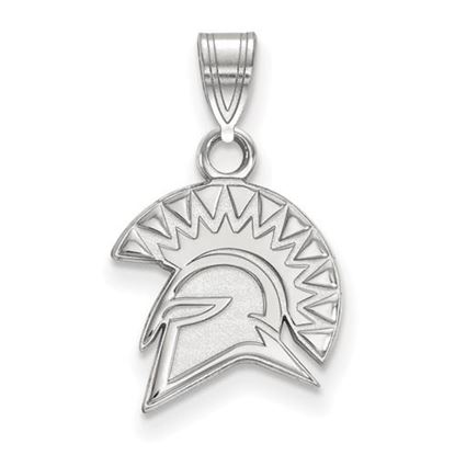 Picture of San Jose State University Spartans 10k White Gold Small Pendant