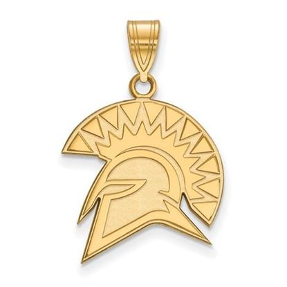 Picture of San Jose State University Spartans 10k Yellow Gold Large Pendant