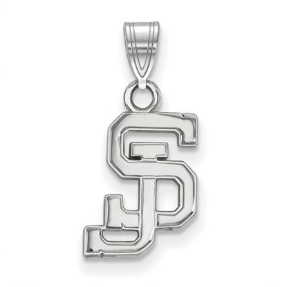 Picture of San Jose State University Spartans 14k White Gold Small Pendant