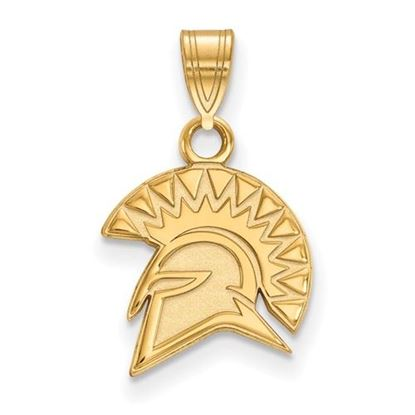 Picture of San Jose State University Spartans 14k Yellow Gold Small Pendant