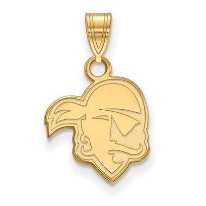 Picture of Seton Hall University Pirates 14k Yellow Gold Small Pendant