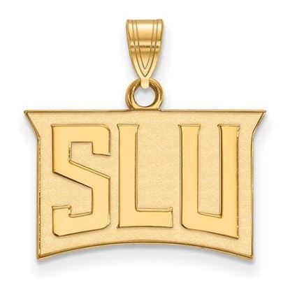 Picture of St. Louis University Billikens 14k Yellow Gold Small Pendant