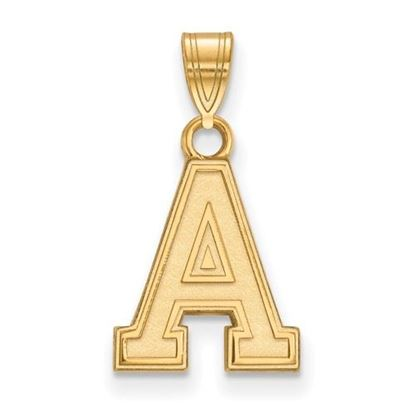 Picture of U.S. Military Academy Black Knights Sterling Silver Gold Plated Small Pendant