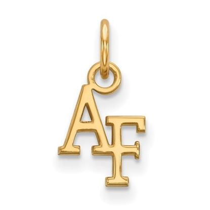 Picture of U.S. Air Force Academy Falcons Sterling Silver Gold Plated Extra Small Pendant
