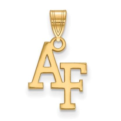 Picture of U.S. Air Force Academy Falcons Sterling Silver Gold Plated Small Pendant