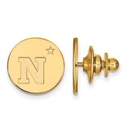 Picture of U.S. Naval Academy Midshipmen Sterling Silver Gold Plated Lapel Pin