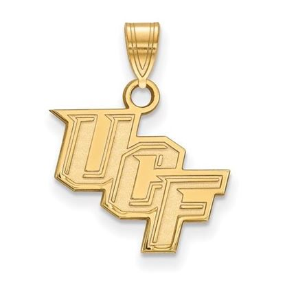 Picture of University of Central Florida Knights Sterling Silver Gold Plated Small Pendant