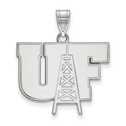 Picture of University of Findlay Oilers 10k White Gold Large Pendant
