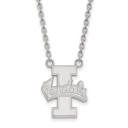 Picture of University of Idaho Vandals 14k White Gold Large Necklace