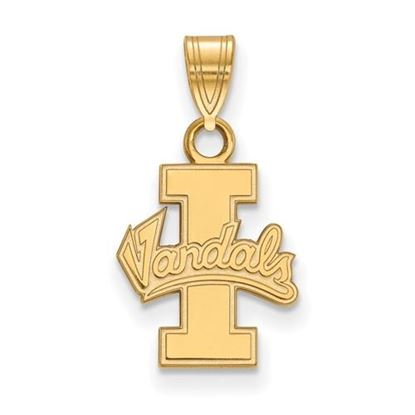 Picture of University of Idaho Vandals Sterling Silver Gold Plated Small Pendant