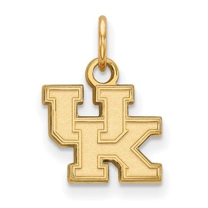 Picture of University of Kentucky Wildcats Sterling Silver Gold Plated Extra Small Pendant