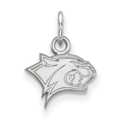 Picture of University of New Hampshire Wildcats 10k White Gold Extra Small Pendant
