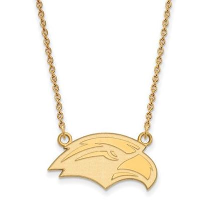 Picture of University of Southern Mississippi Golden Eagles 10k Yellow Gold Small Necklace