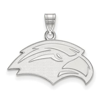 Picture of University of Southern Mississippi Golden Eagles 10k White Gold Small Pendant