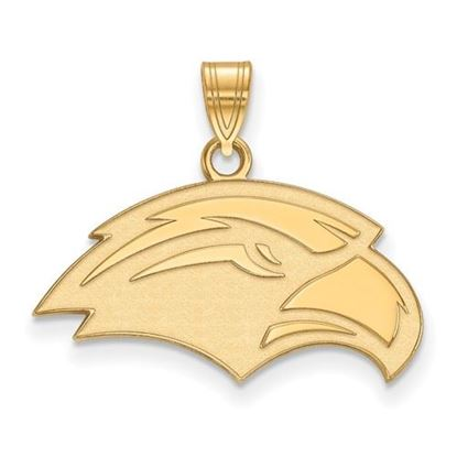 Picture of University of Southern Mississippi Golden Eagles 10k Yellow Gold Small Pendant