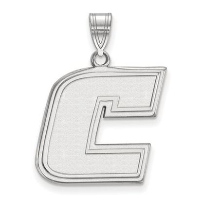 Picture of University of Tennessee at Chattanooga Mocs 10k White Gold Large Pendant