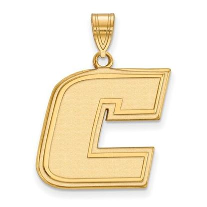 Picture of University of Tennessee at Chattanooga Mocs Sterling Silver Gold Plated Large Pendant