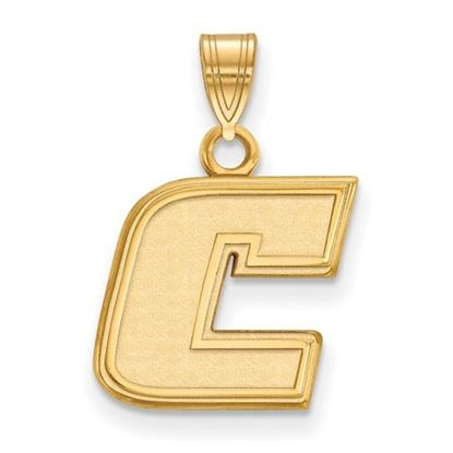 Picture of University of Tennessee at Chattanooga Mocs Sterling Silver Gold Plated Small Pendant