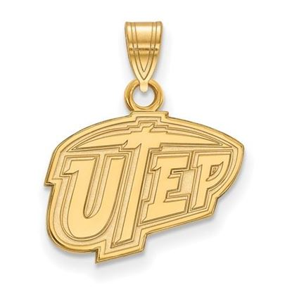 Picture of University of Texas at El Paso Miners 10k Yellow Gold Small Pendant
