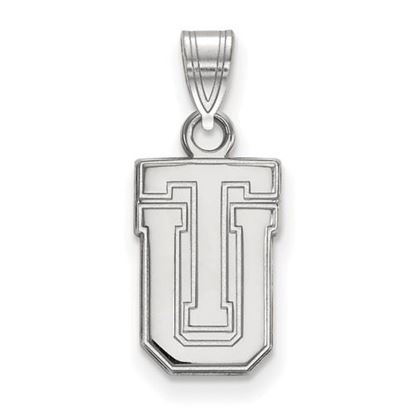 Picture of University of Tulsa Golden Hurricanes 10k White Gold Small Pendant