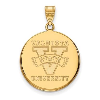 Picture of Valdosta State University Blazers 10k Yellow Gold Large Disc Pendant