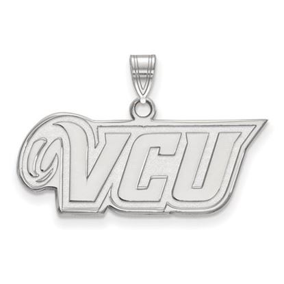 Picture of Virginia Commonwealth University Rams 10k White Gold Small Pendant