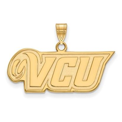 Picture of Virginia Commonwealth University Rams 10k Yellow Gold Small Pendant