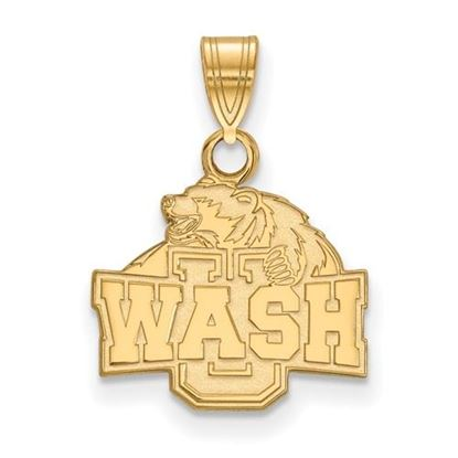 Picture of Washington University St. Louis Bears Bears 10k Yellow Gold Small Pendant