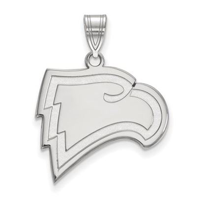 Picture of Winthrop University Eagles 10k White Gold Large Pendant