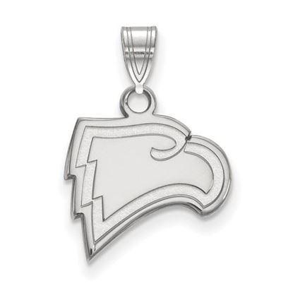 Picture of Winthrop University Eagles 10k White Gold Small Pendant