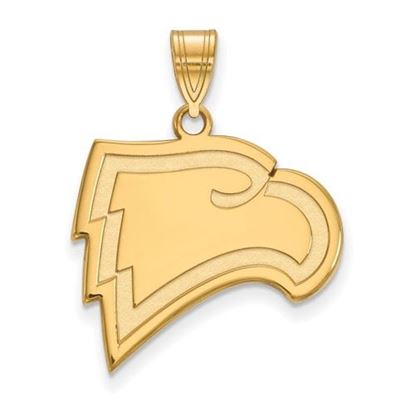 Picture of Winthrop University Eagles 10k Yellow Gold Large Pendant