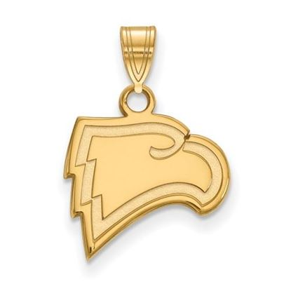 Picture of Winthrop University Eagles 10k Yellow Gold Small Pendant