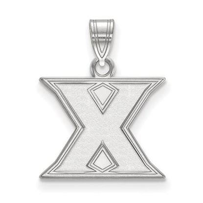 Picture of Xavier University Musketeers 10k White Gold Small Pendant