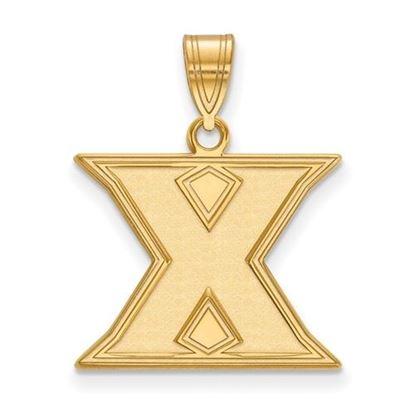 Picture of Xavier University Musketeers 14k Yellow Gold Medium Pendant